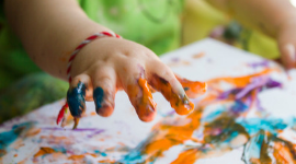 Beyond Finger Painting for Toddlers