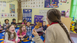 strategies to reduce challenging behavior in preschool classroom