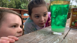 Kitchen Science Experiments: Fun with Bubbles