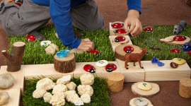 Loose Parts Play Ideas to Open Up Imaginative Play in Young Children