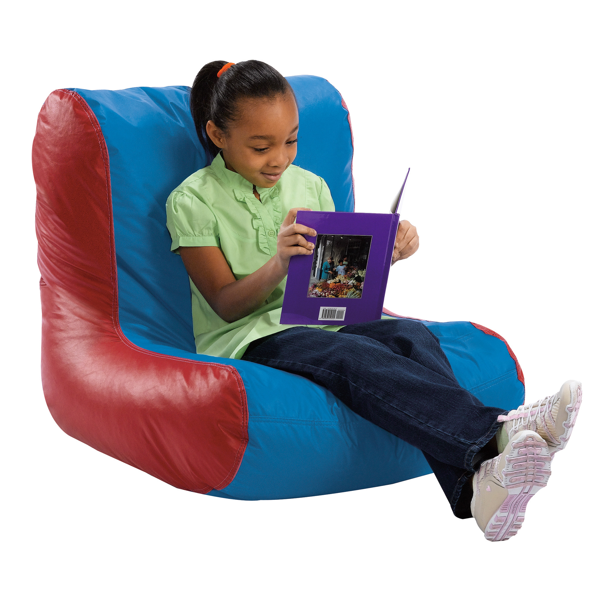 Pleasing High Back Bean Bag Chairs Beckers School Supplies Customarchery Wood Chair Design Ideas Customarcherynet