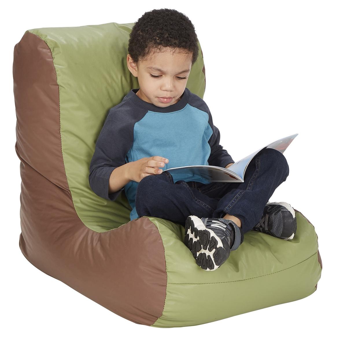 Marvelous High Back Bean Bag Chairs Beckers School Supplies Customarchery Wood Chair Design Ideas Customarcherynet