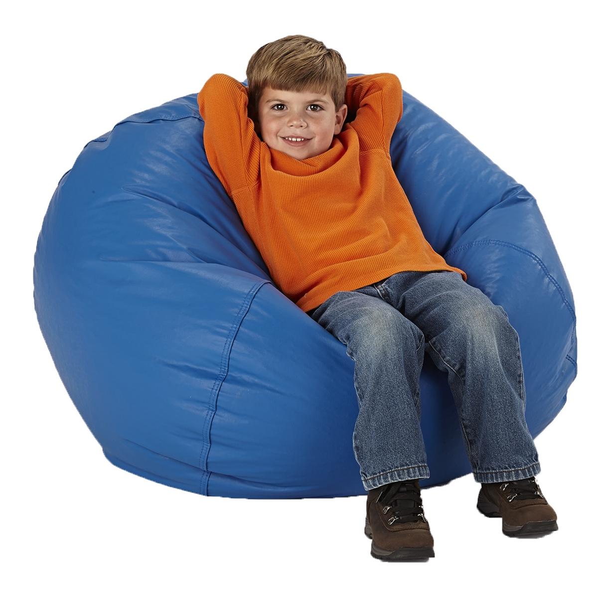 Round Bean Bag Chairs for Kids | Becker's School Supplies